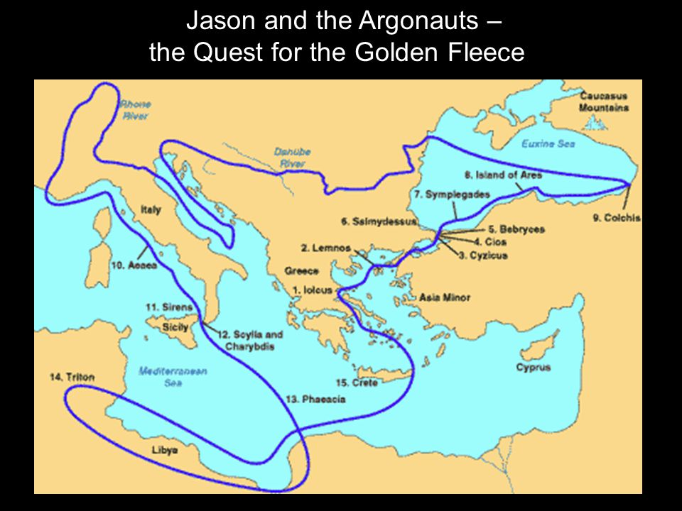 Jason and the Argonauts – the Quest for the Golden Fleece