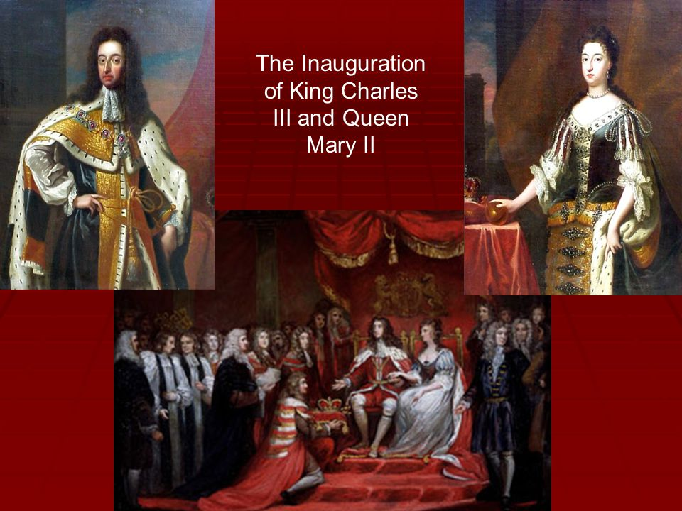 The Inauguration of King Charles III and Queen Mary II