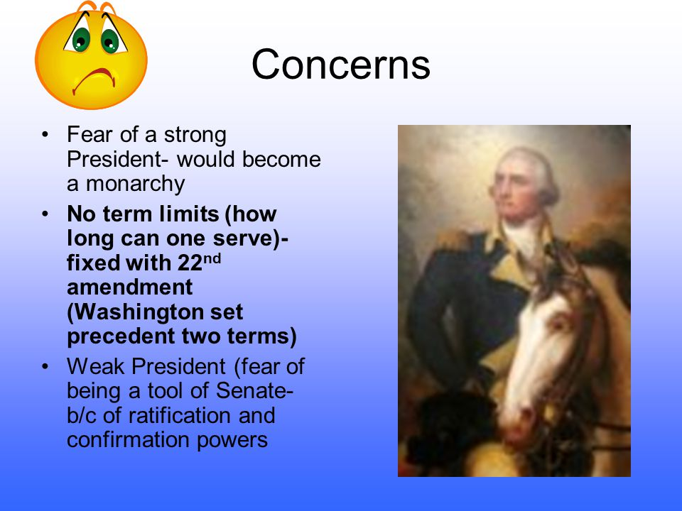 The Evolution of the Presidency Constitutional Convention-how do we choose a leader –Monarch- president for life (Alexander Hamilton) –Plural Executiv