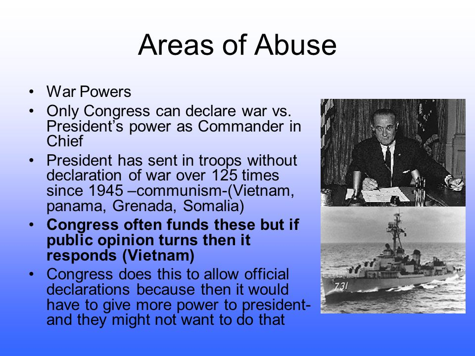 The Imperial Presidency 1973- Arthur Schlesinger's The imperial Presidency- president's power has grown too excessive (imperial like) How is this poss
