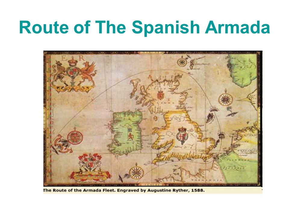 Route of The Spanish Armada