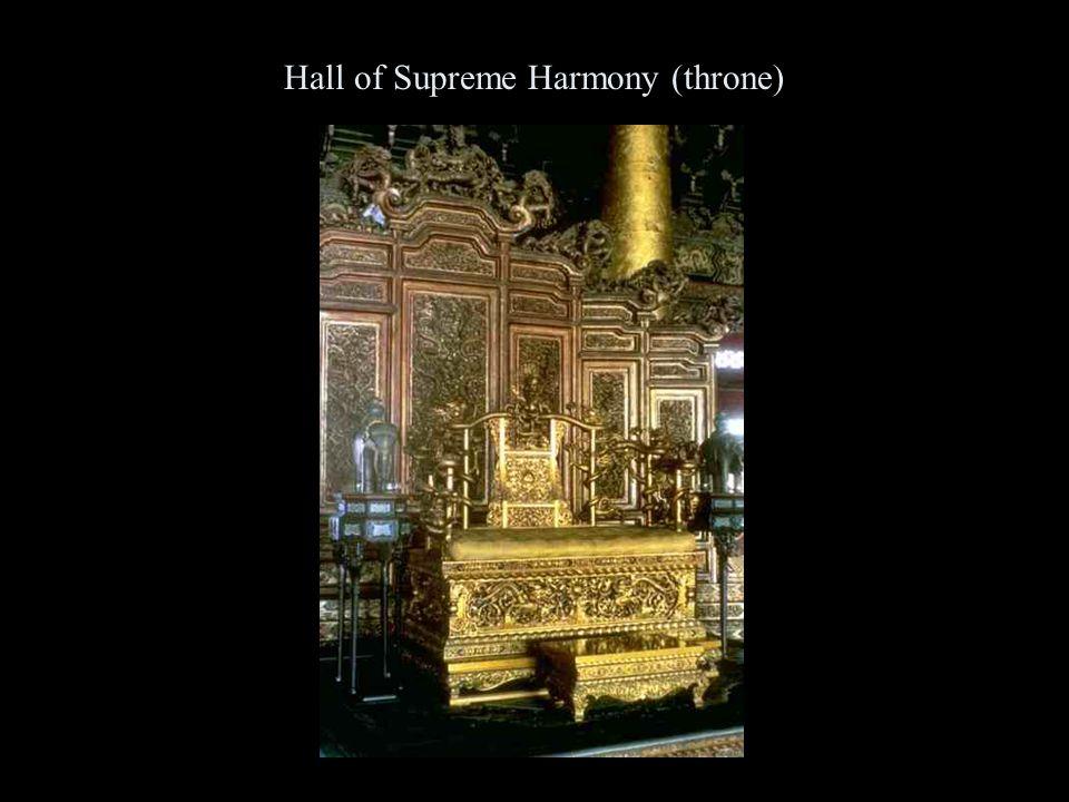 Hall of Supreme Harmony (throne)