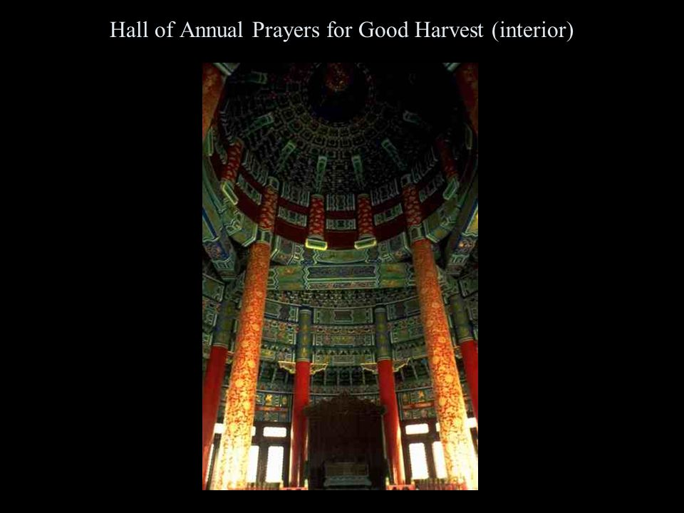 Hall of Annual Prayers for Good Harvest (interior)
