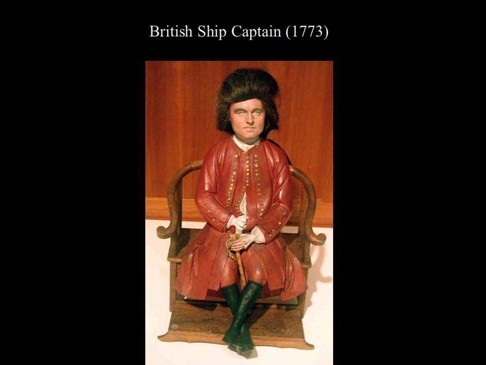 British Ship Captain (1773)