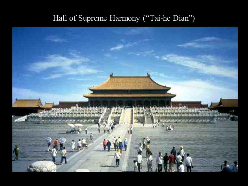 Hall of Supreme Harmony ( Tai-he Dian )