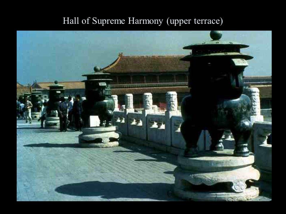 Hall of Supreme Harmony (upper terrace)