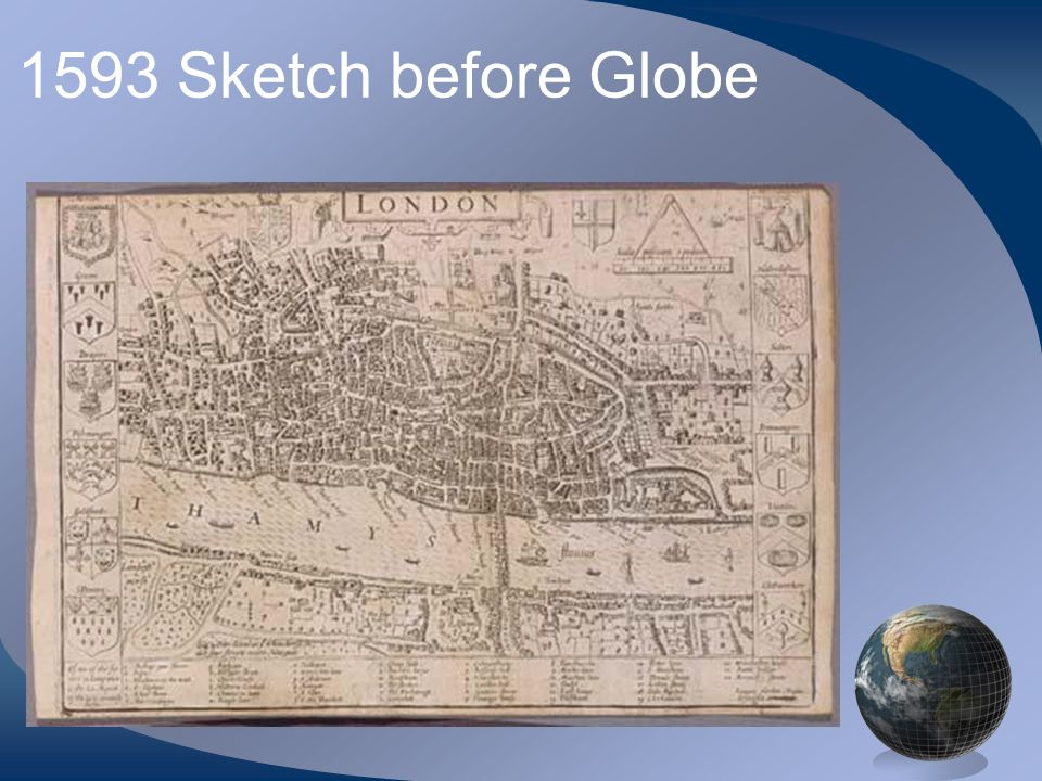 1593 Sketch before Globe