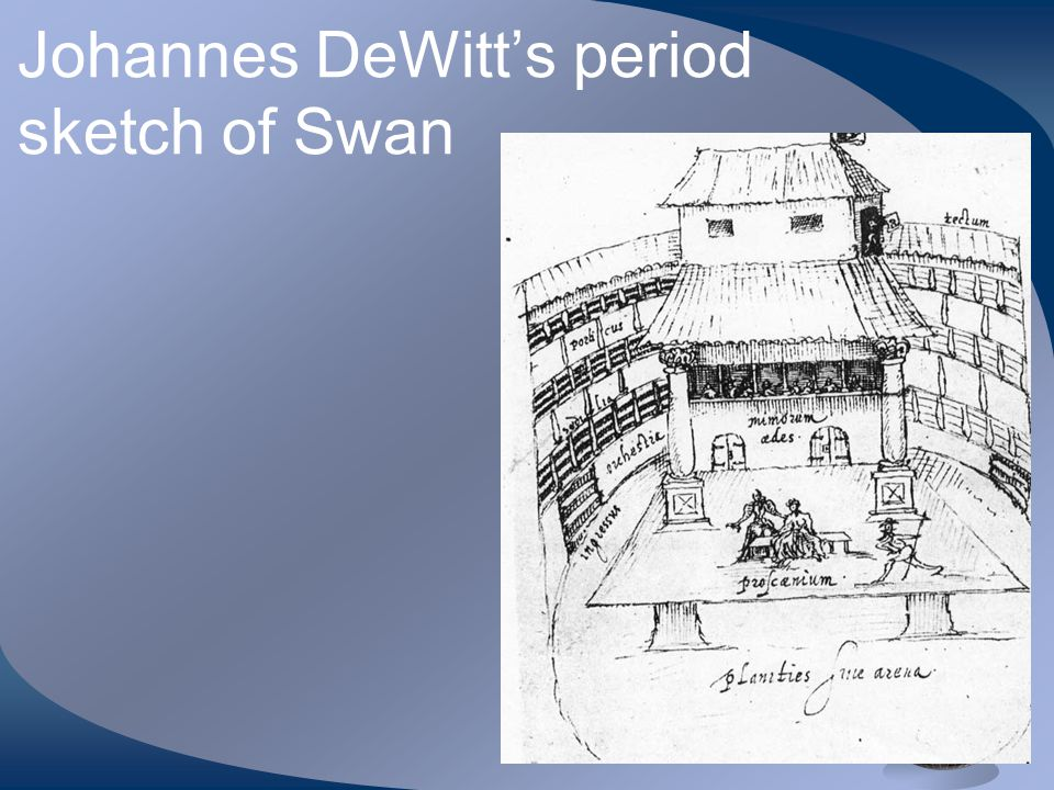 Johannes DeWitt's period sketch of Swan