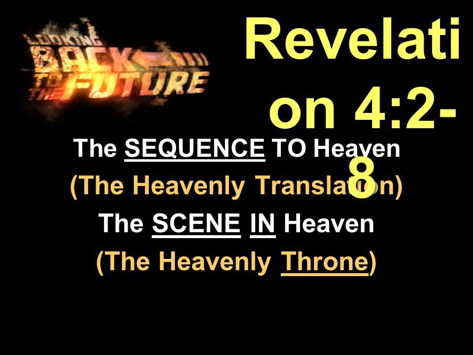 It's the THEME of REVELATION 4.It's the THEME of REVELATION 4.