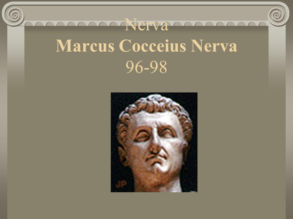 Nerva Marcus Cocceius Nerva 96-98