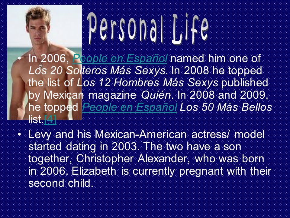 In 2006, People en Español named him one of Los 20 Solteros Más Sexys.