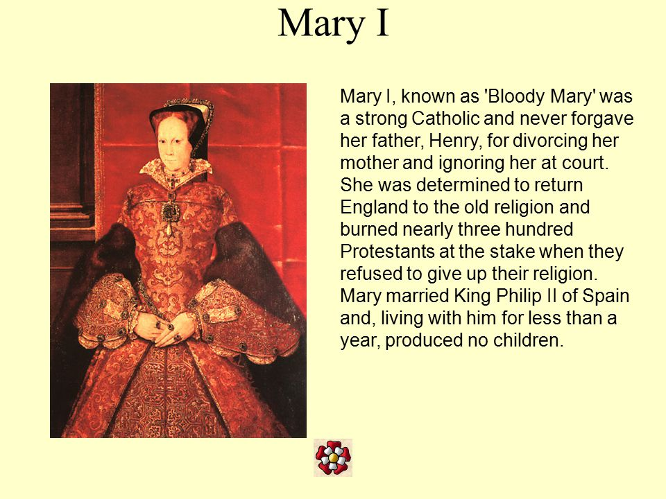 Elizabeth I The prosperous Elizabethan Age began when Mary's sister Elizabeth became queen upon Mary s death in 1558.
