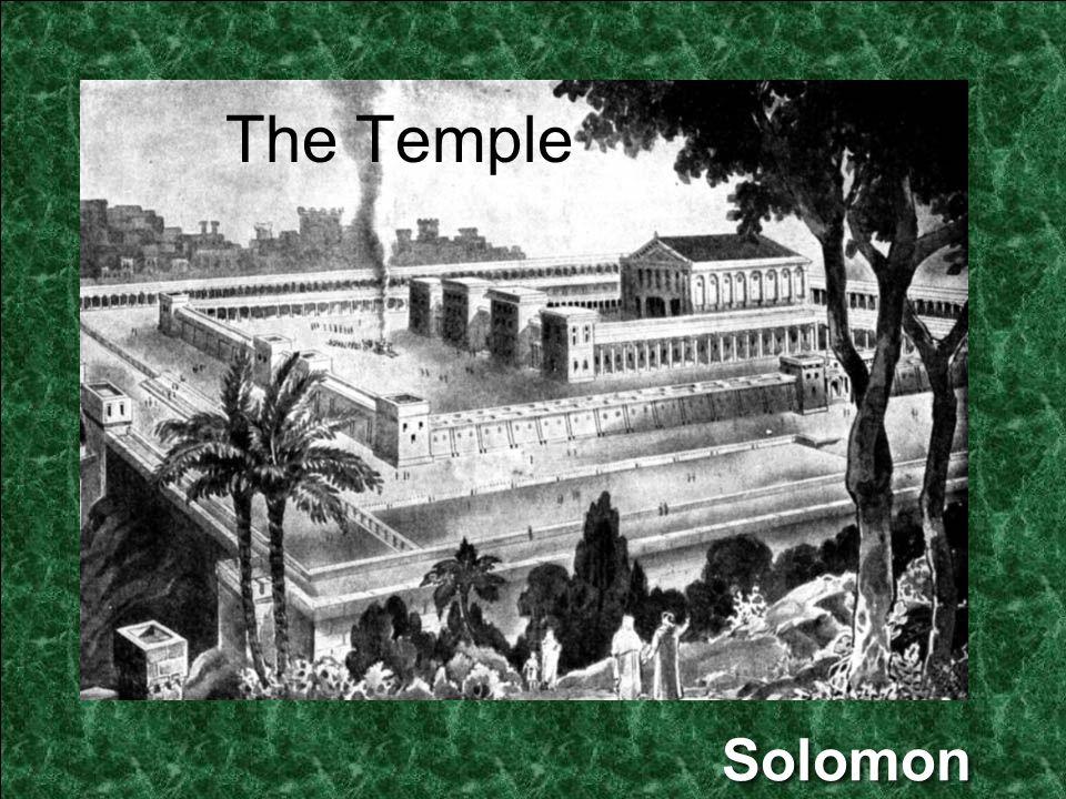 Solomon The Temple