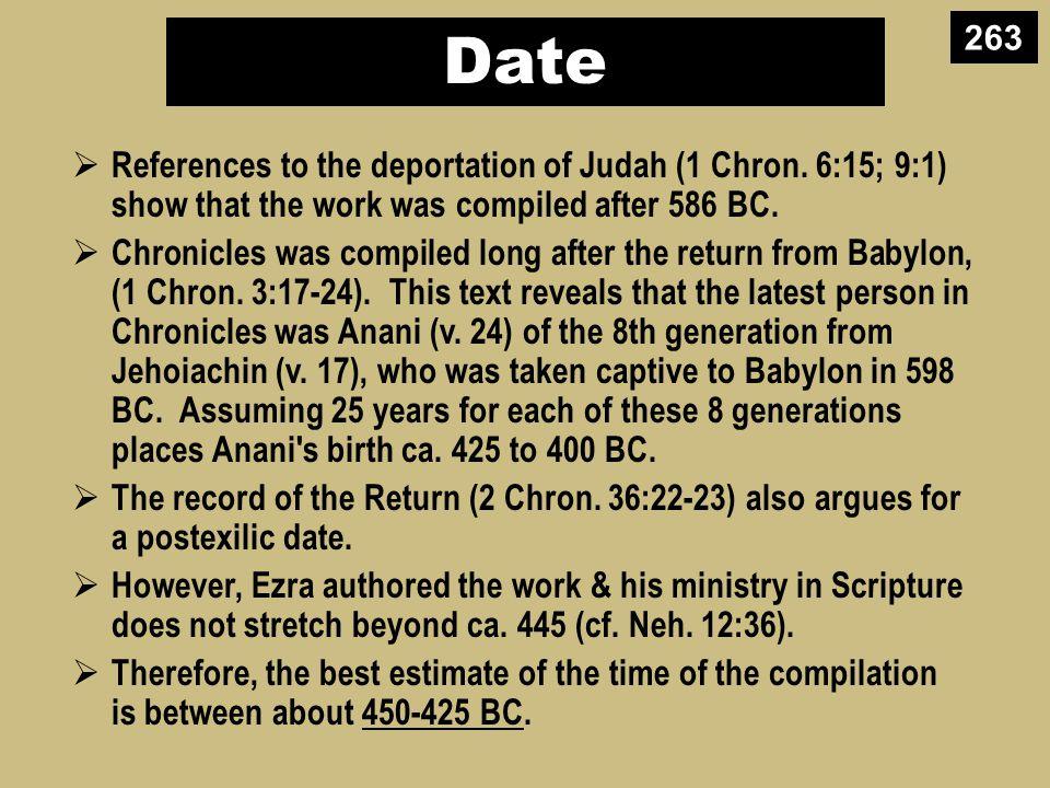 Making Sense of Samuel, Kings, and Chronicles Books Kings SaulDavidSolomon-Ahaziah Ahaziah- Zedekiah Dates 10431011971 931 852 852 722 586 560 538 Kingdom ---------United-------------------------- ---------Divided------------ Surviving -Returned- 1 Chronicles 2 Chronicles 1 Samuel 2 Samuel 1 Kings 2 Kings 264