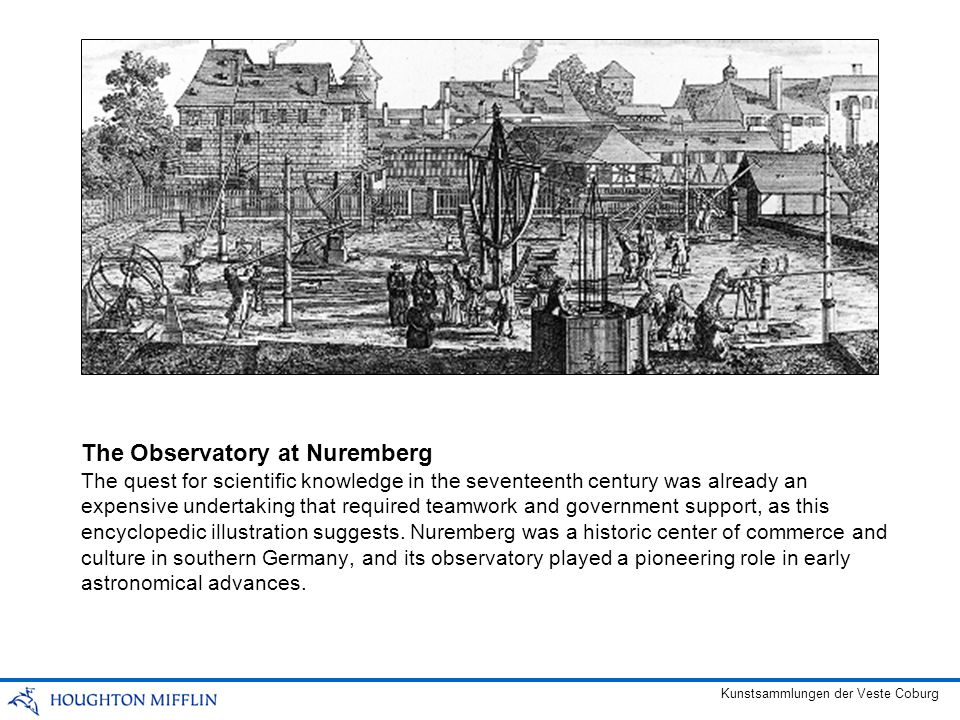 The quest for scientific knowledge in the seventeenth century was already an expensive undertaking that required teamwork and government support, as t