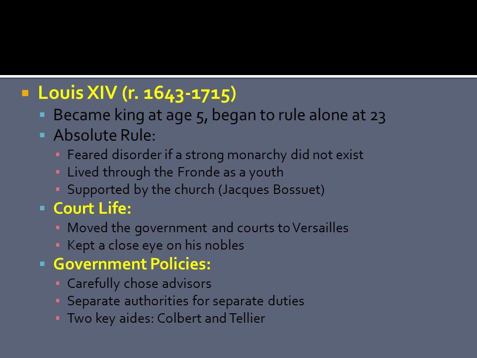  Louis XIV (r.