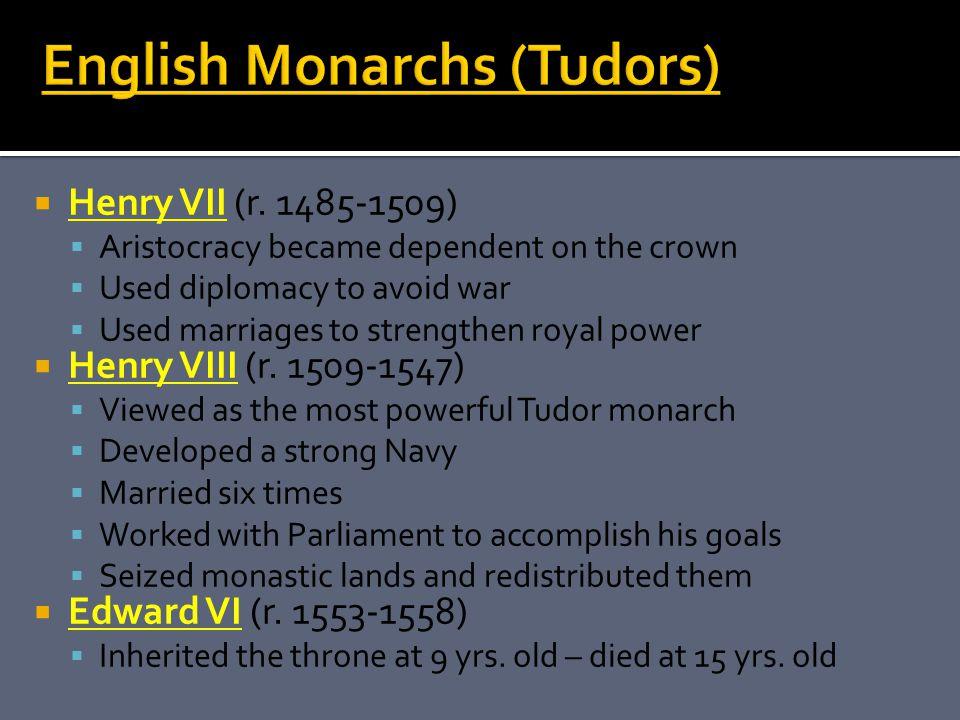  Henry VII (r.