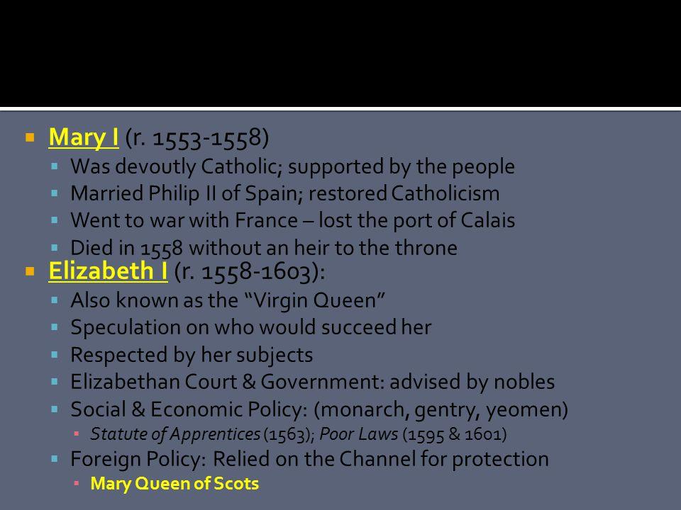  Mary I (r.
