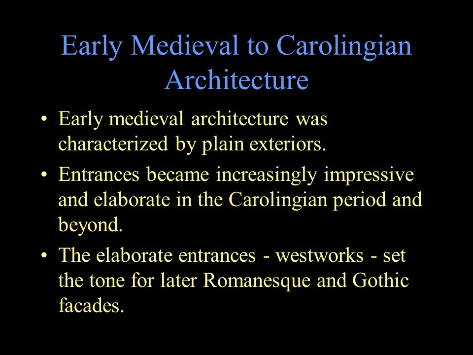 Carolingian and Ottonian Architecture