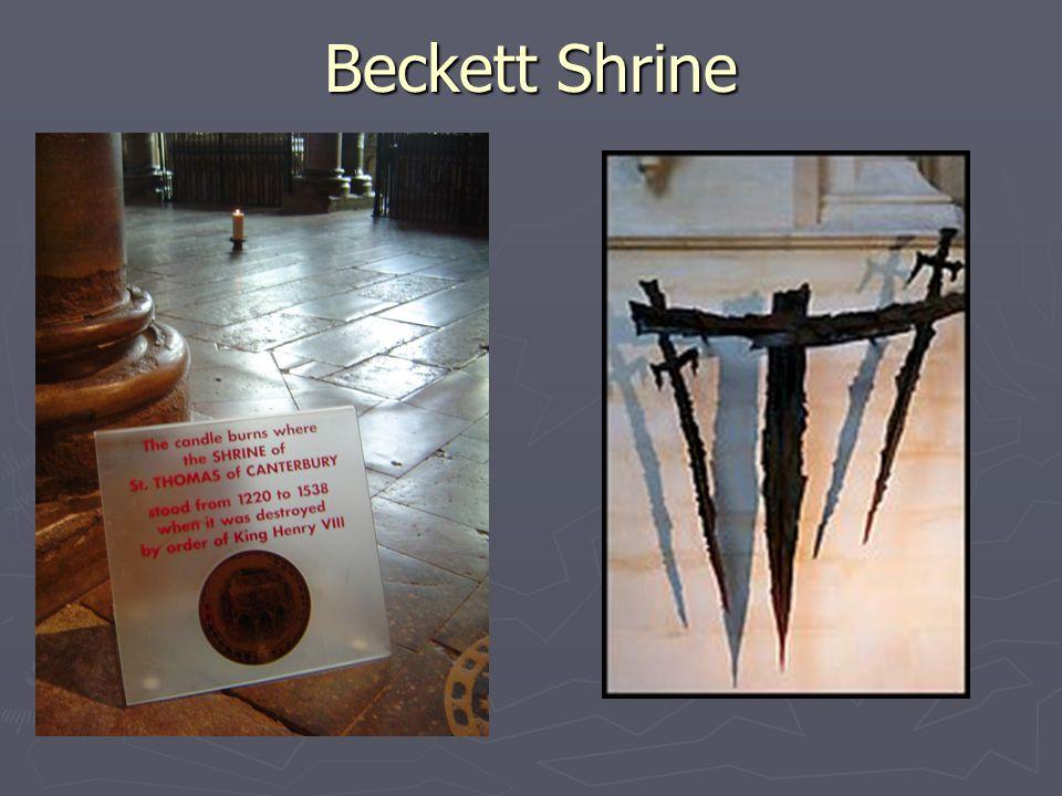 Beckett Shrine