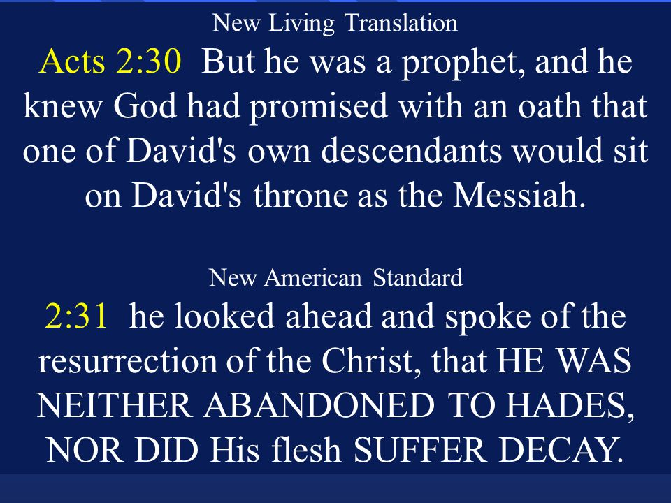 International English 2:32 So Jesus,, is the one whom God raised from death.