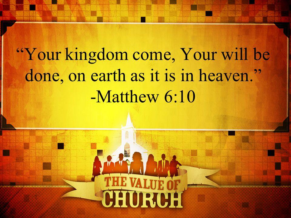 1.Kingdom God's kingdom is His kingly rule.