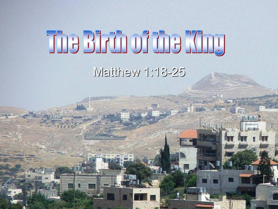 Matthew 1:18-25