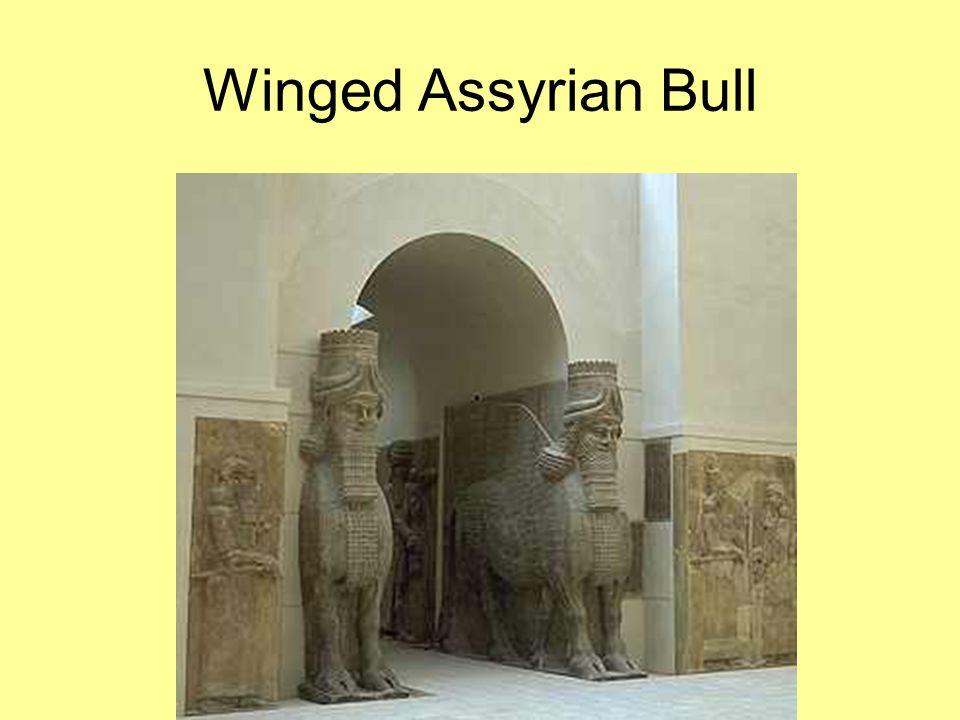 Winged Assyrian Bull