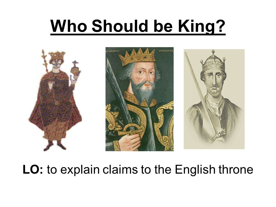 Election Campaign Imagine there is going to be an election to decide which of the claimants will become the next king of England.