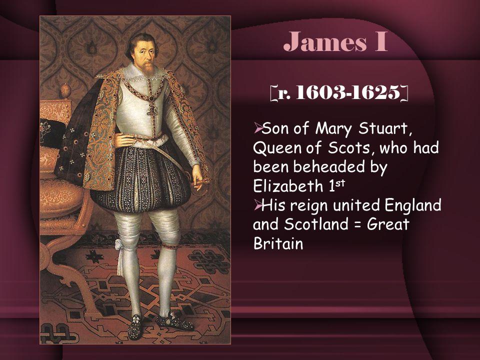 James I [r.