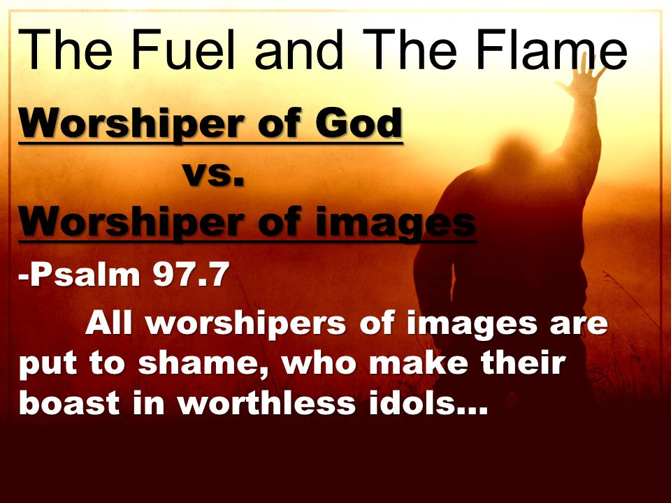Worshiper of God vs. vs.
