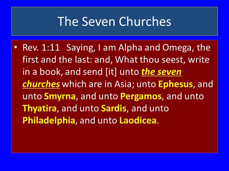 The Seven Churches Rev.