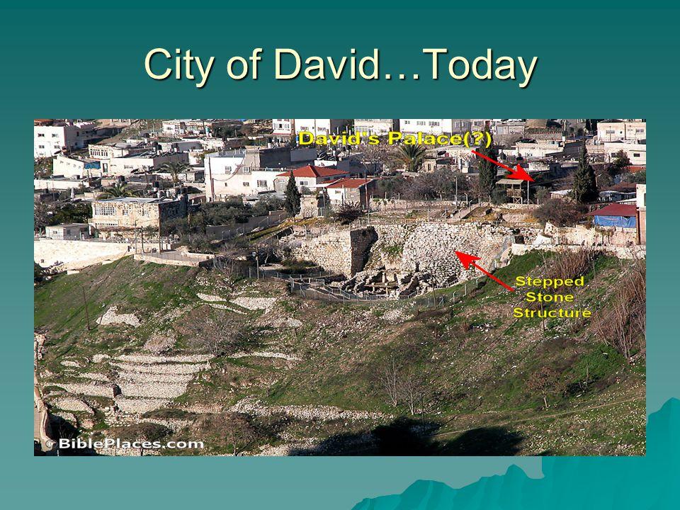 CITY of David c. 1915