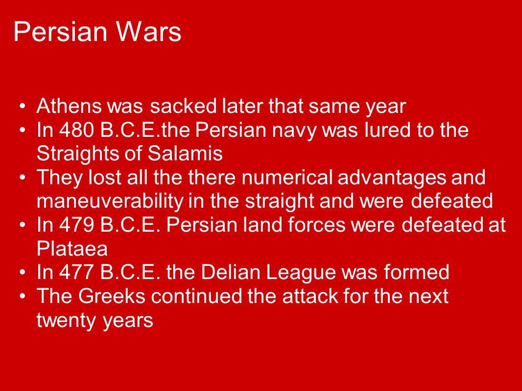 Greece vs Persia