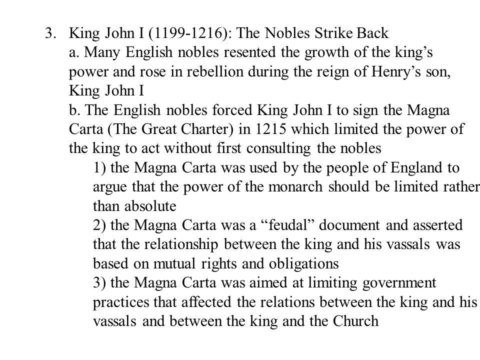 E.Restoration of the Monarchy 1.