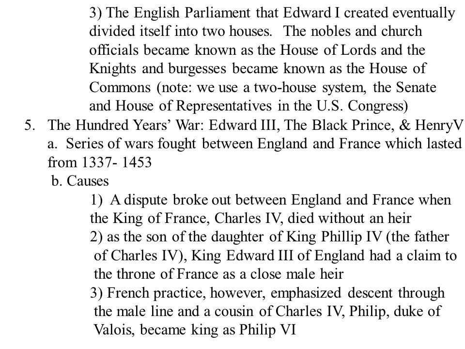 b)Whigs wanted to ban James from becoming king and establish a Protestant king and they also tolerated dissenting ideas 5) Charles dismissed Parliament in 1681 and relied on loans from France to keep his government functioning 3.