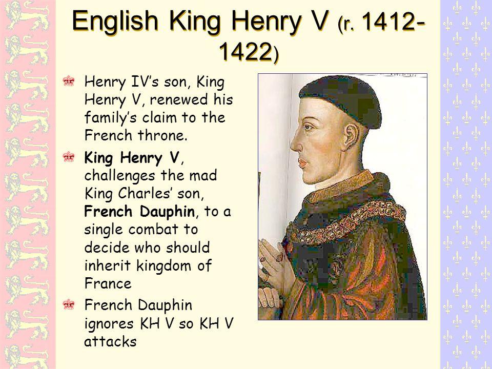 English King Henry V (r.