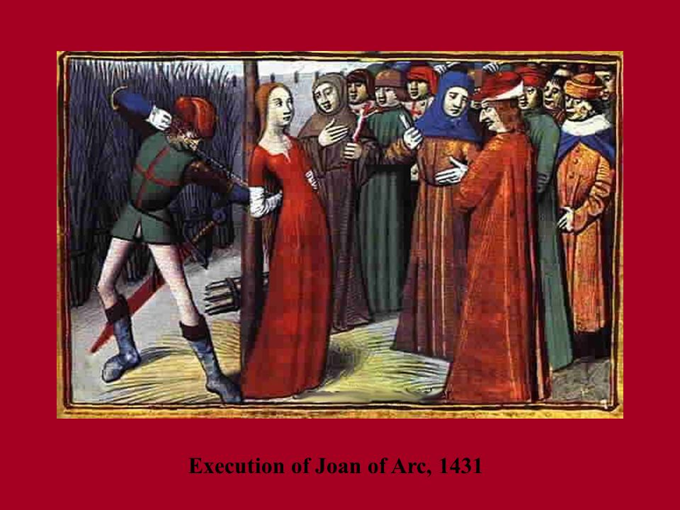 Execution of Joan of Arc, 1431