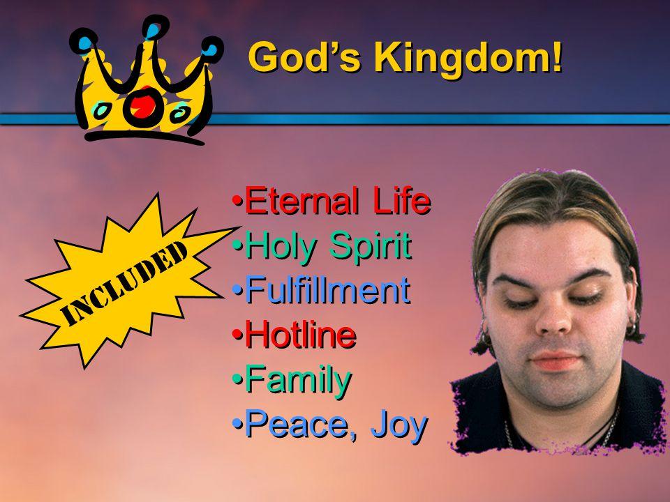 God's Kingdom.