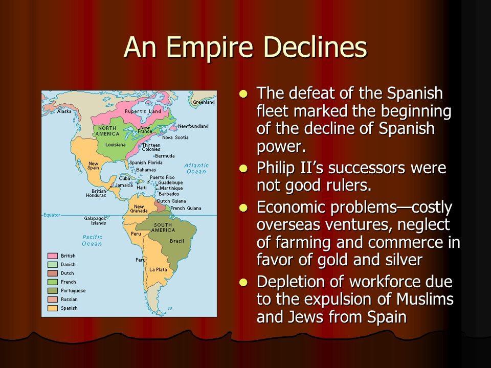 Spain's Golden Age: 1550-1650 While Spain was at its height politically and economically, it was also leading the way in culture.