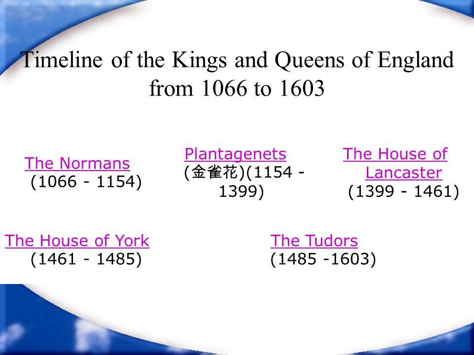 The Plantagenets King Henry III 1216 - 1272 Eldest son of John I.