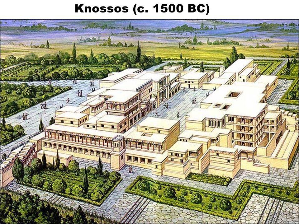 Knossos (c. 1500 BC)