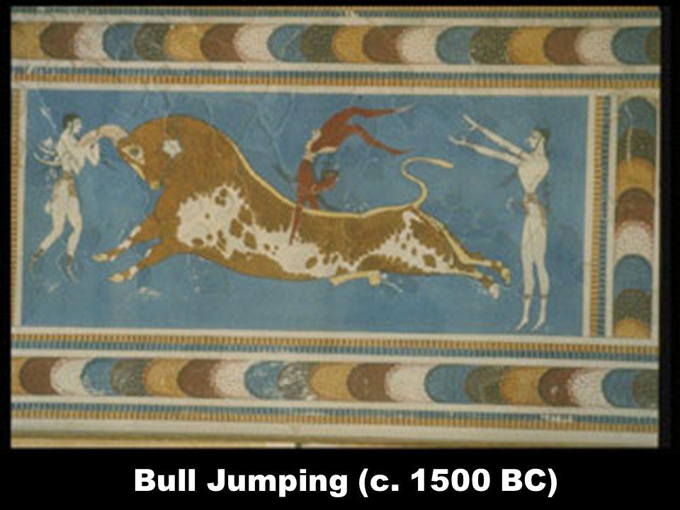 Bull Jumping (c. 1500 BC)