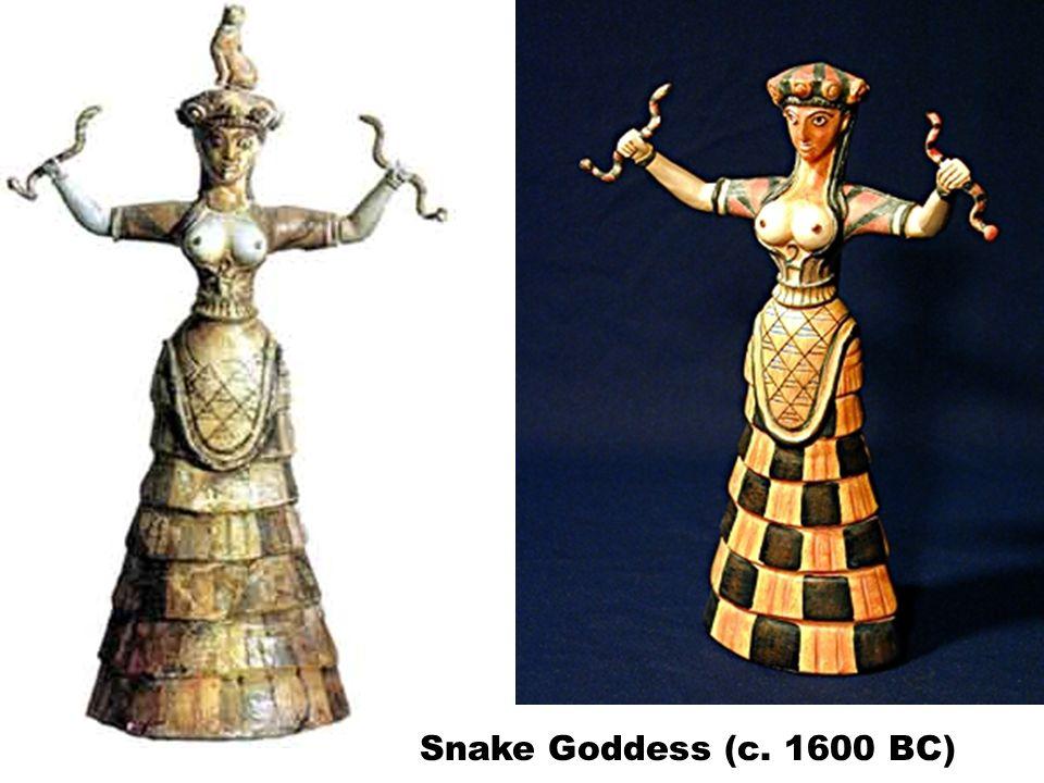 Snake Goddess (c. 1600 BC)