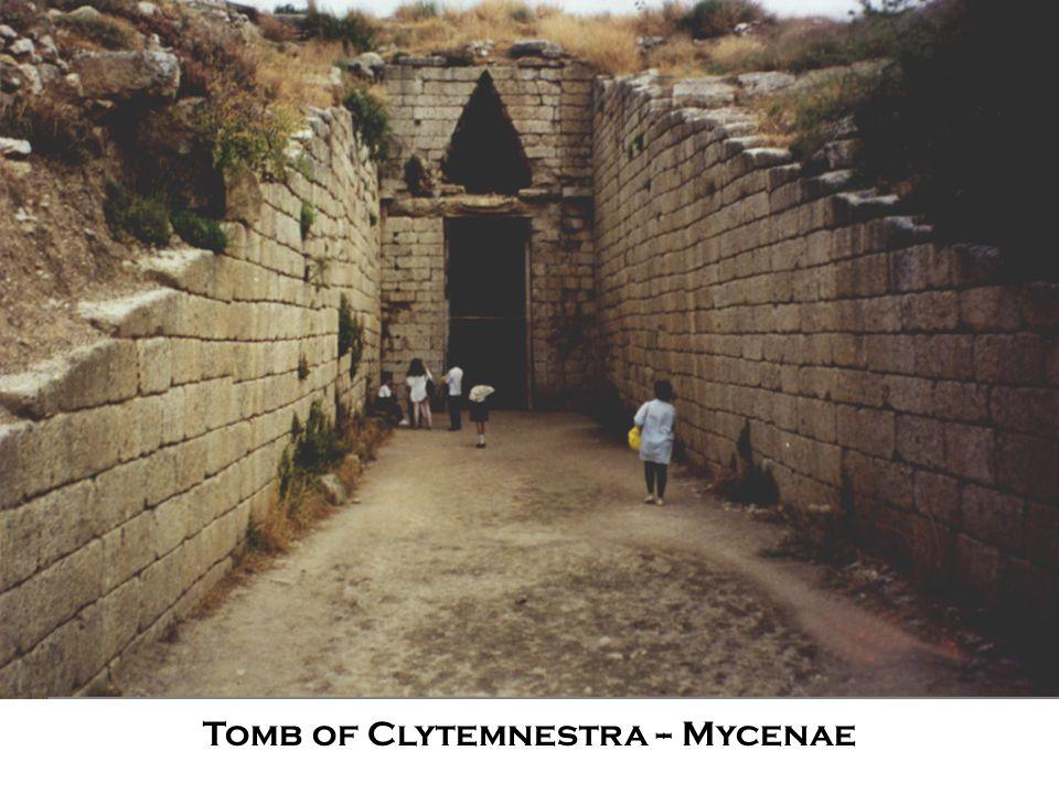 Tomb of Clytemnestra -- Mycenae
