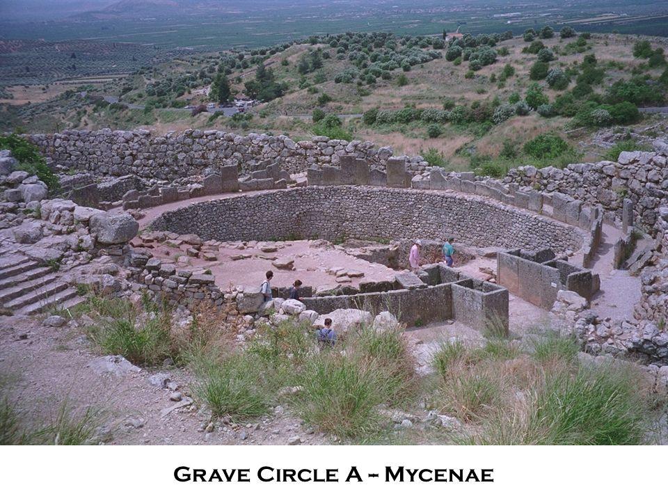 Grave Circle A -- Mycenae