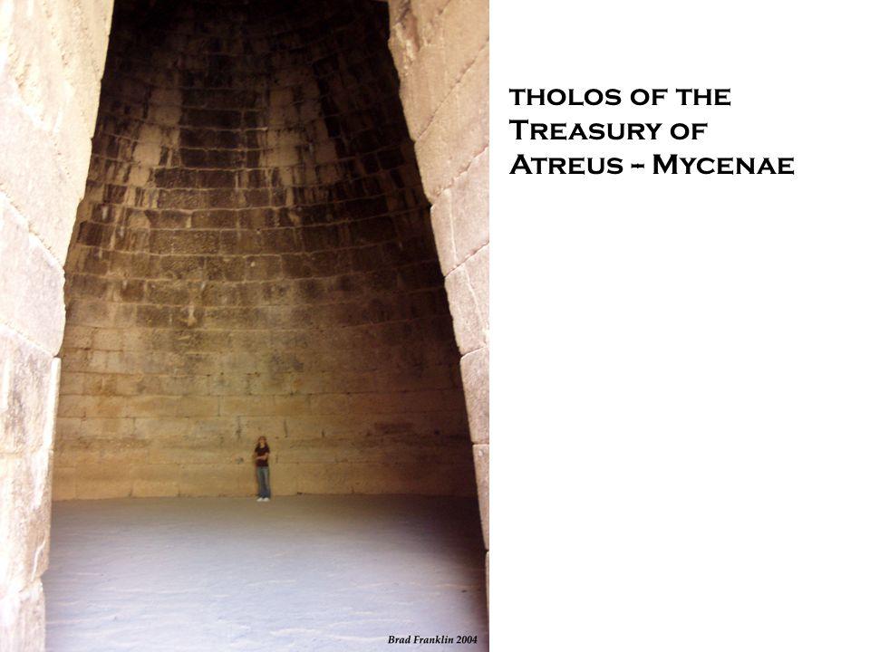 tholos of the Treasury of Atreus -- Mycenae