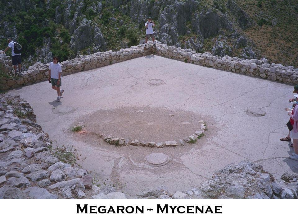 Megaron -- Mycenae