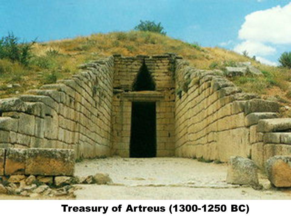 Treasury of Artreus (1300-1250 BC)