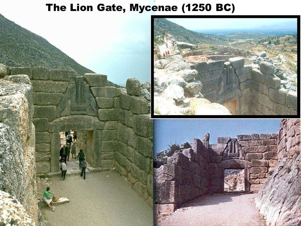 The Lion Gate, Mycenae (1250 BC)